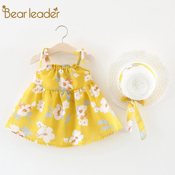 8f768627e63 Bear Leader Baby Dresses 2018 New Summer Baby Girls Clothes Colorful P -  Kutefactory