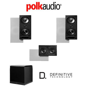 Polk Audio 265LS 3.1-Ch Vanishing Series in-Wall Home Theater System (265-LS + 255C-LS + SuperCube4000)