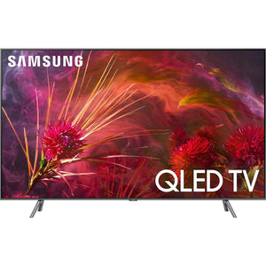 "Samsung QN75Q8FN FLAT 75"" QLED 4K UHD 8 Series Smart TV 2018 - Stereo Advantage"