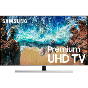"Samsung UN55NU8000FXZA Flat 55"" 4K UHD 8 Series Smart LED TV (2018) - Stereo Advantage"