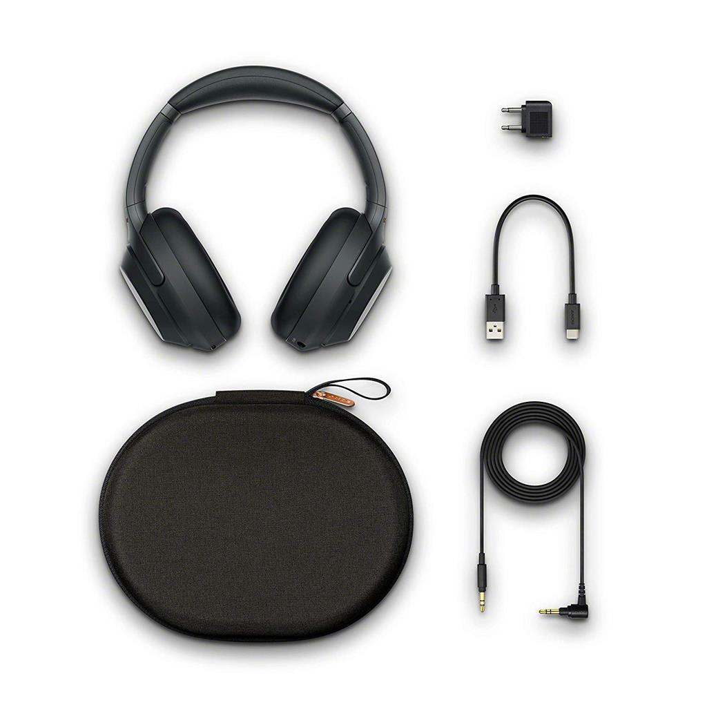 Sony Noise Cancelling Headphones WH1000XM3: Wireless Bluetooth Over the Ear Headphones with Mic and Alexa voice control - Industry Leadin... - Stereo Advantage