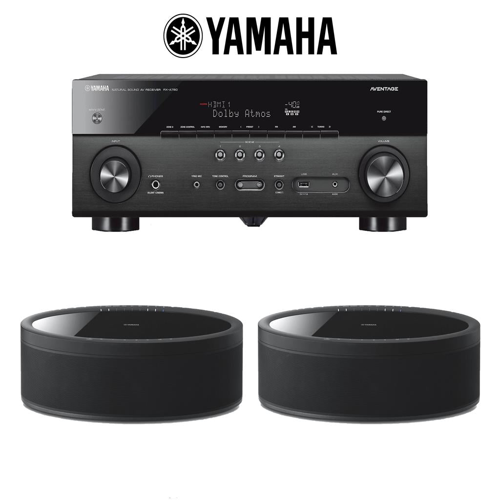 yamaha rx a780 aventage 7 2 channel av receiver 2 wx. Black Bedroom Furniture Sets. Home Design Ideas