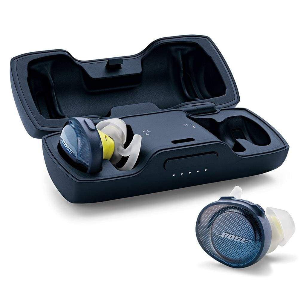 Bose SoundSport Free Wireless headphones- Navy/Citron - Stereo Advantage