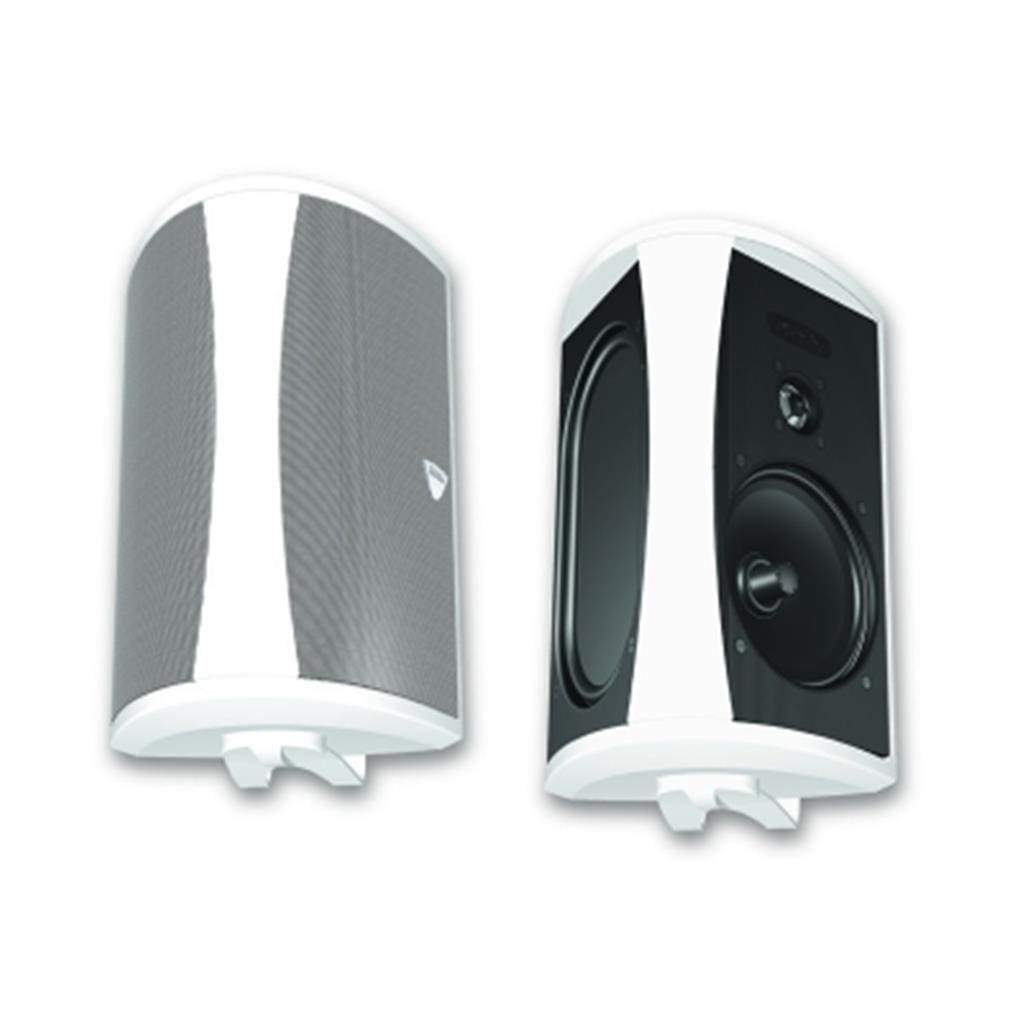 Definitive Technology AW5500 White All-Weather Indoor/Outdoor Speaker with bracket - Stereo Advantage