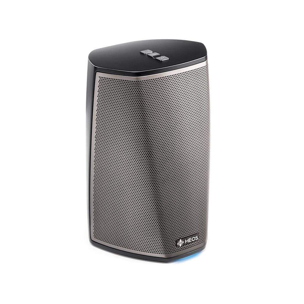 Denon HEOS 1 HS2 Wireless Speaker (Black) (New Version) - Stereo Advantage