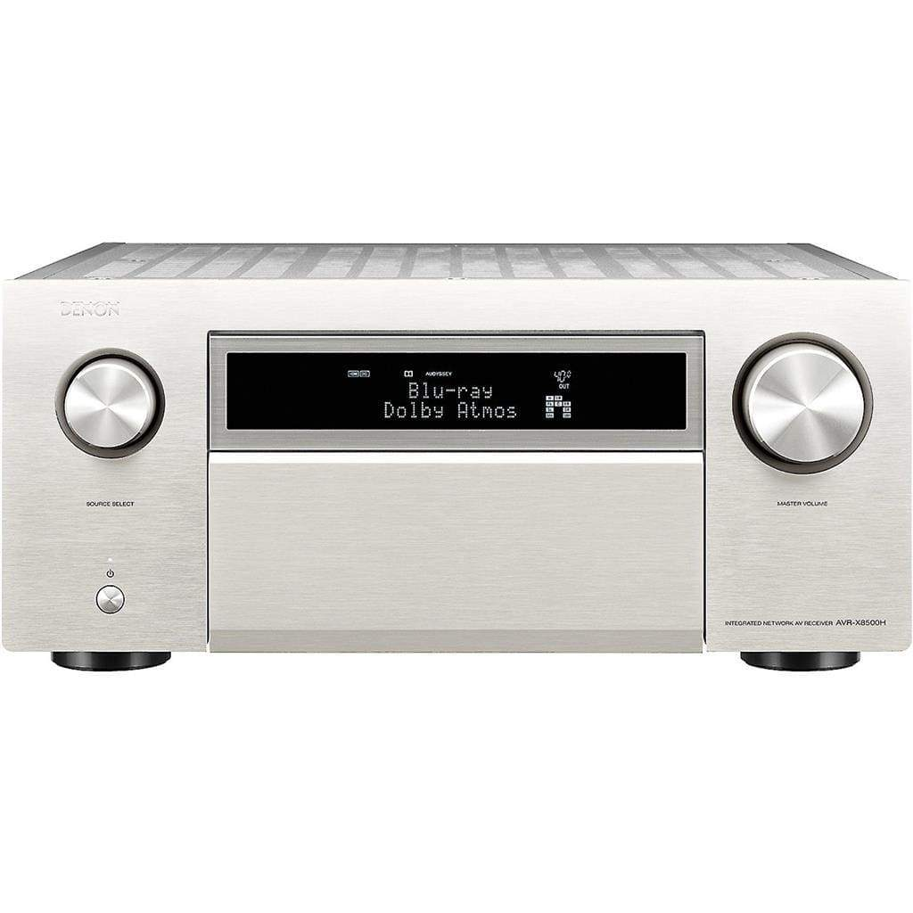 Denon AVR-X8500H 13.2-channel AV Receiver  Silver - Stereo Advantage