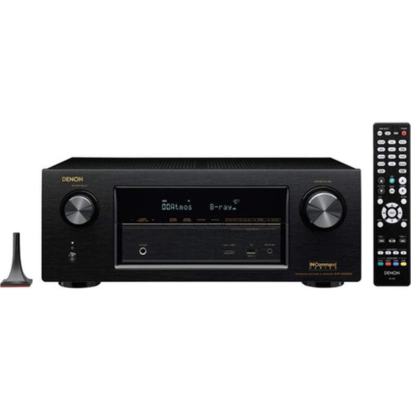 Denon AVRX2200W 7.2 Channel Full 4K Ultra HD A/V Receiver with Bluetooth and Wi-Fi