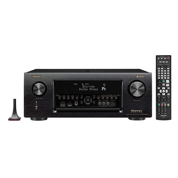 Denon AVRX4400H 9.2 Channel Full 4K Ultra HD Network AV Receiver with HEOS black