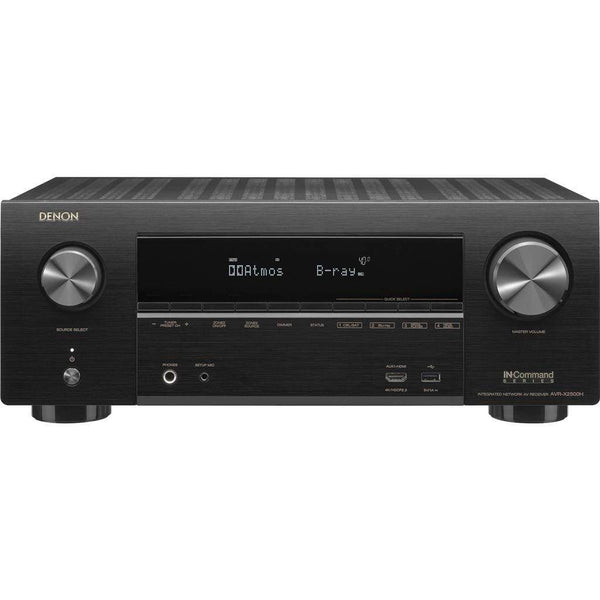 Denon AVR-X2500H 7.2 Ch. 4K AV Receiver with Amazon Alexa Voice Control
