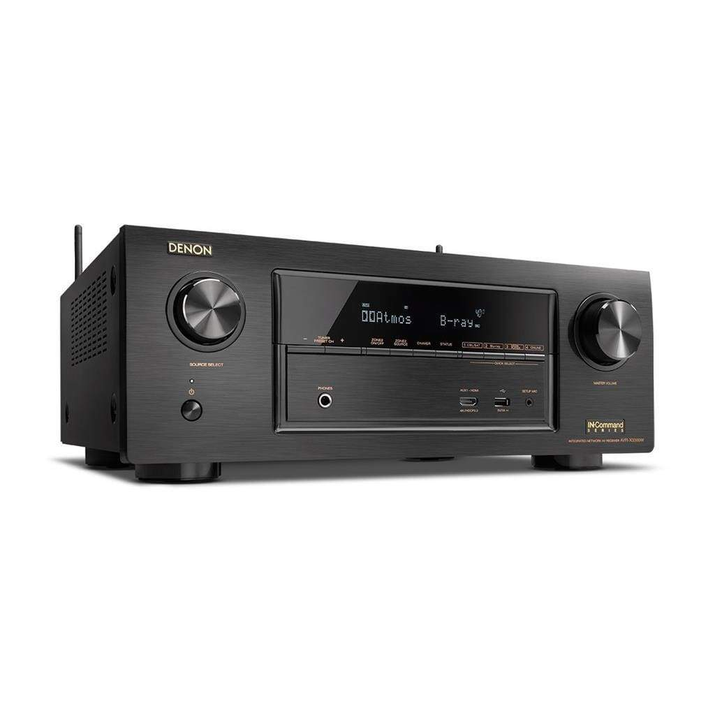 Denon AVR-X3300W 7.2 Channel Full 4K Ultra HD AV Receiver with Bluetooth - Stereo Advantage
