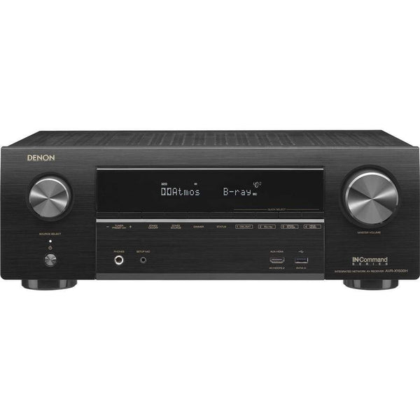 Denon AVR-X1500H 7.2 Ch. 4K AV Receiver with Amazon Alexa Voice Control