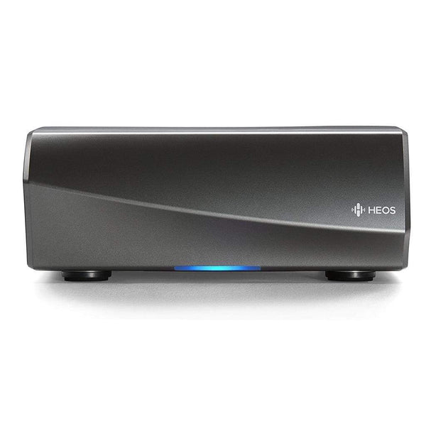 Denon HEOS AMP Wireless Amplifier (Black and Gunmetal) (New Version)