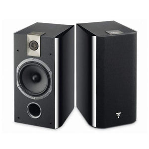 Focal 705 2-Way bass reflex bookshelf wall mounted Black- (Pair) - Stereo Advantage