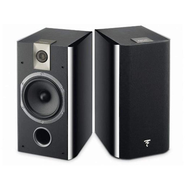 Focal 705 2-Way bass reflex bookshelf wall mounted Black- (Pair)