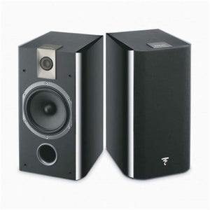 Focal 706 2-Way bass reflex bookshelf Black- (Pair) - Stereo Advantage