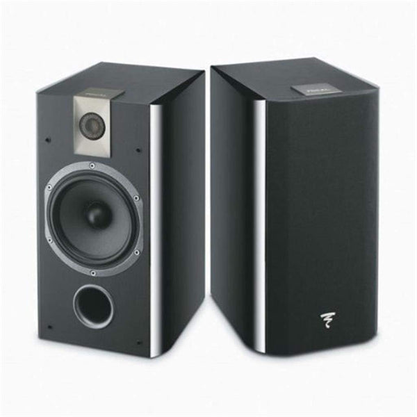 Focal 706 2-Way bass reflex bookshelf Black- (Pair)