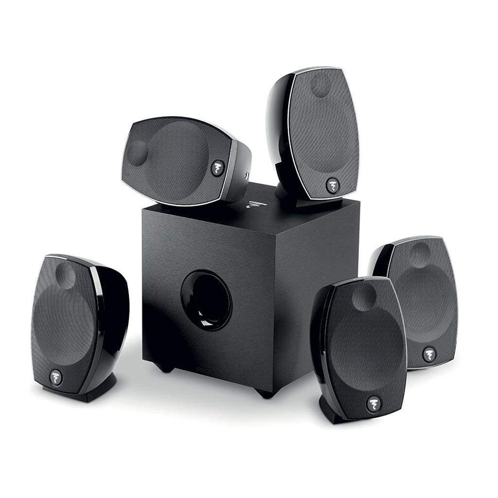 Focal SIB EVO 5.1 Two Way 150W Compact Bass-reflex Home Cinema Speakers Systems - Stereo Advantage