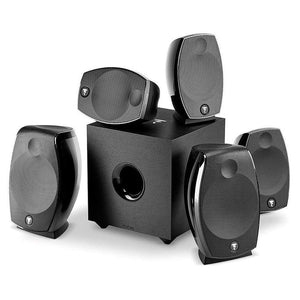 Focal SIB EVO ATMOS 5.1.2 Two-Way Bass-reflex Satellite Home Cinema Loudspeaker System Compatible With DOLBY ATMOS - Stereo Advantage