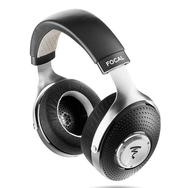 Focal Elegia Audiophile Circum-Aural Closed-Back Over-Ear Headphones (Black/Silver)