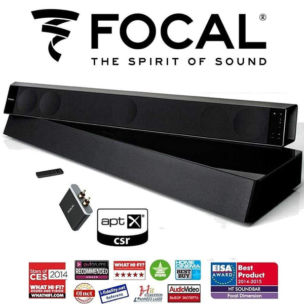 Focal Dimension 5.1 Soundbar & APT-X Bluetooth Receiver