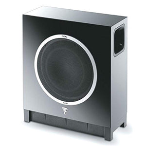 "Focal - Sub Air - Wireless Ultra Flat 8"" Subwoofer - High Gloss Black - Stereo Advantage"