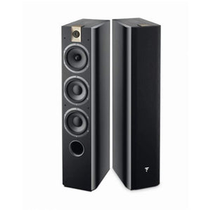 Focal 726 3-Way Bass Reflex Floor Standing Black (Pair) - Stereo Advantage