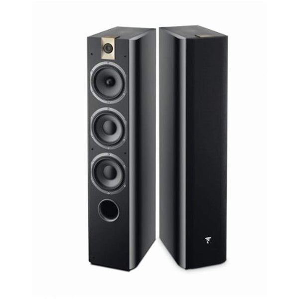 Focal 726 3-Way Bass Reflex Floor Standing Black (Pair)