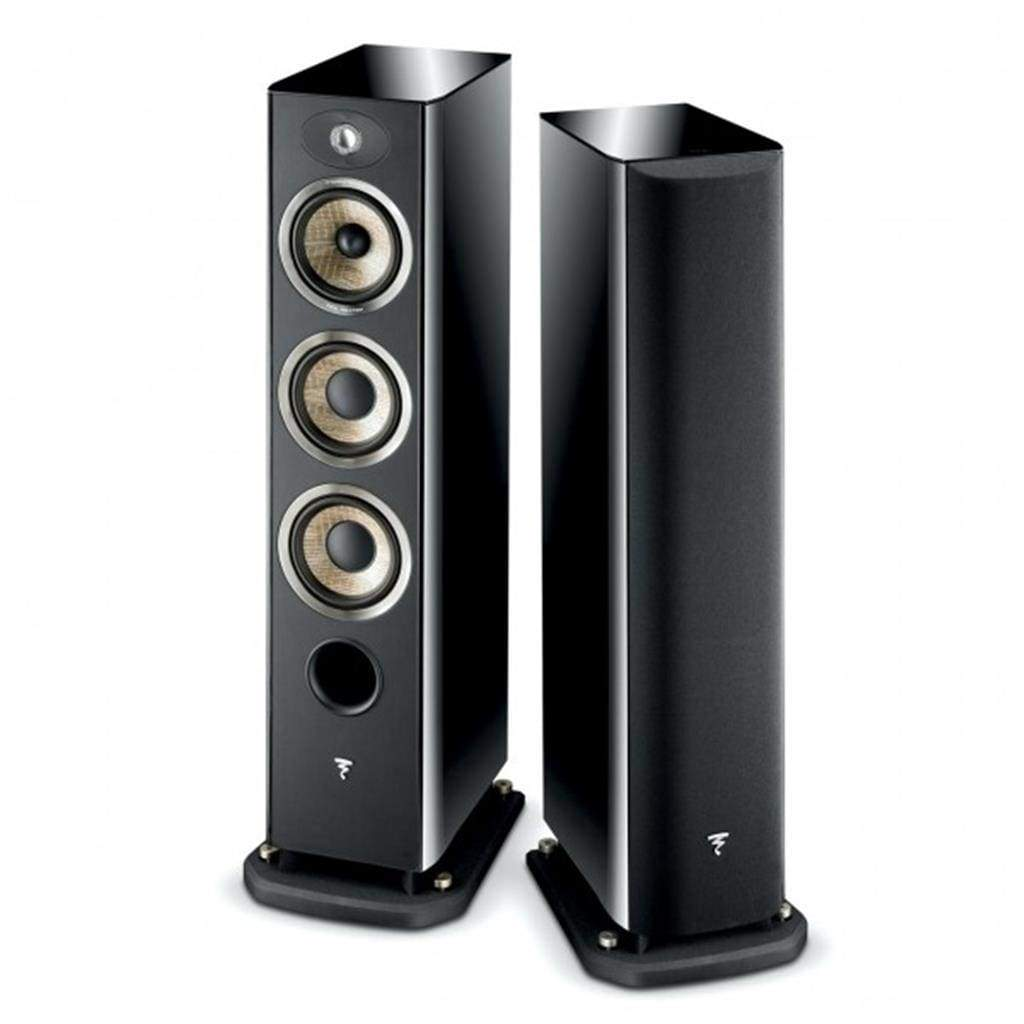 Focal Aria 926 3-Way bass reflex floor standing Black- (Pair) - Stereo Advantage
