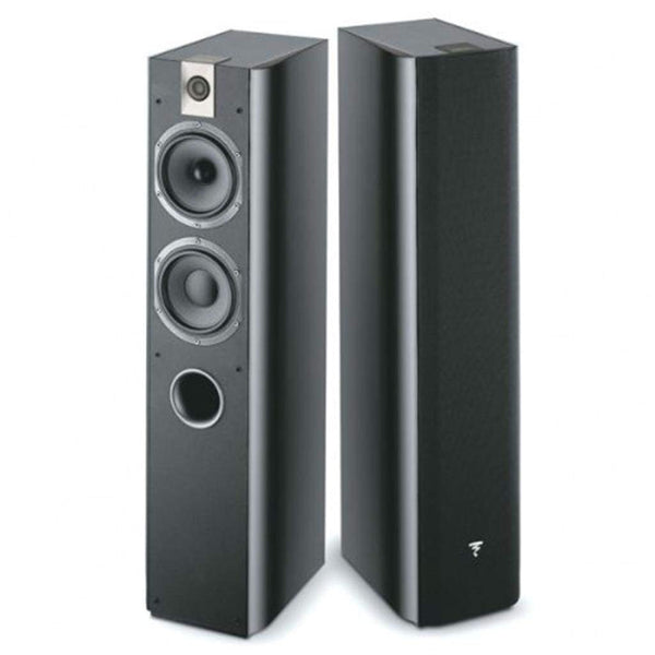 Focal 716 Bass-Reflex Floostanding speaker Black (Pair)