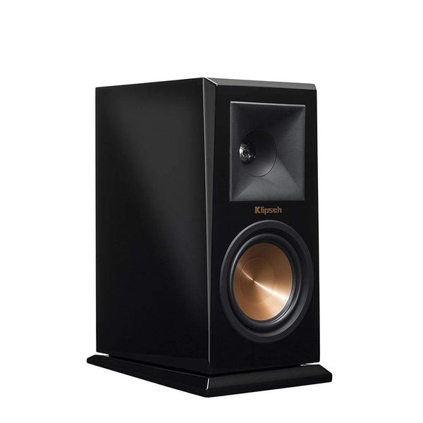 Klipsch RP-150M Reference Premiere Monitor Speaker with 5.25 inch Cerametallic Cone Woofer - Pair Piano Black