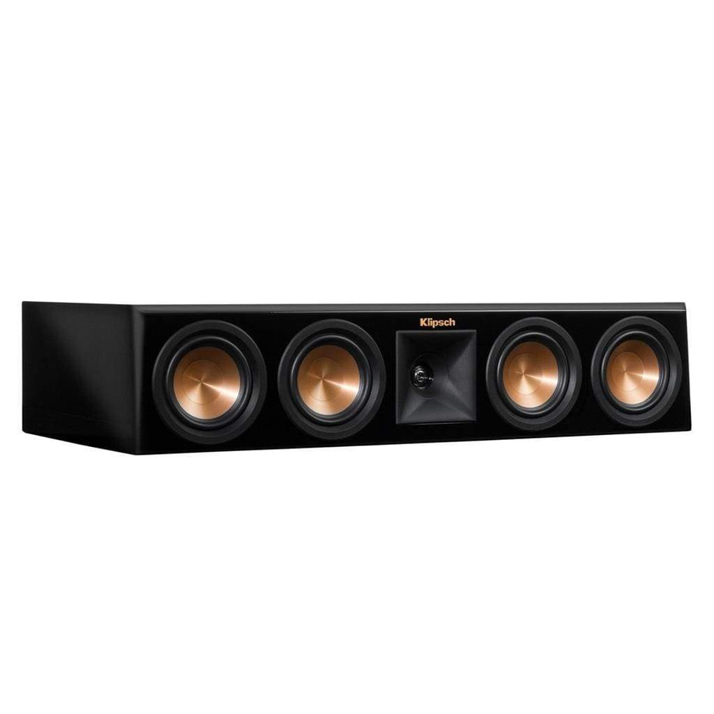 Klipsch RP440C piano black Center Channel Speaker - Stereo Advantage