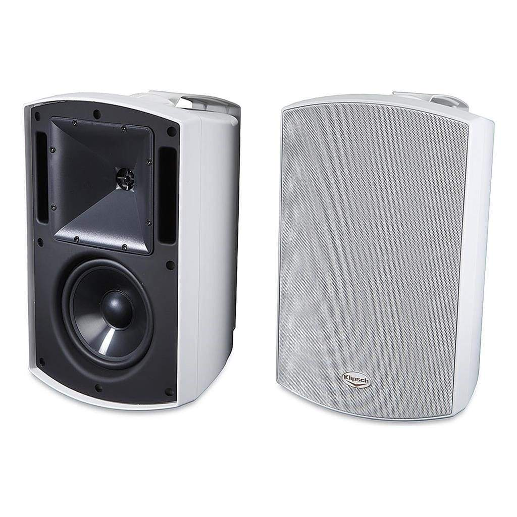 Klipsch AW-650 Outdoor Speakers- White (Pair) - Stereo Advantage