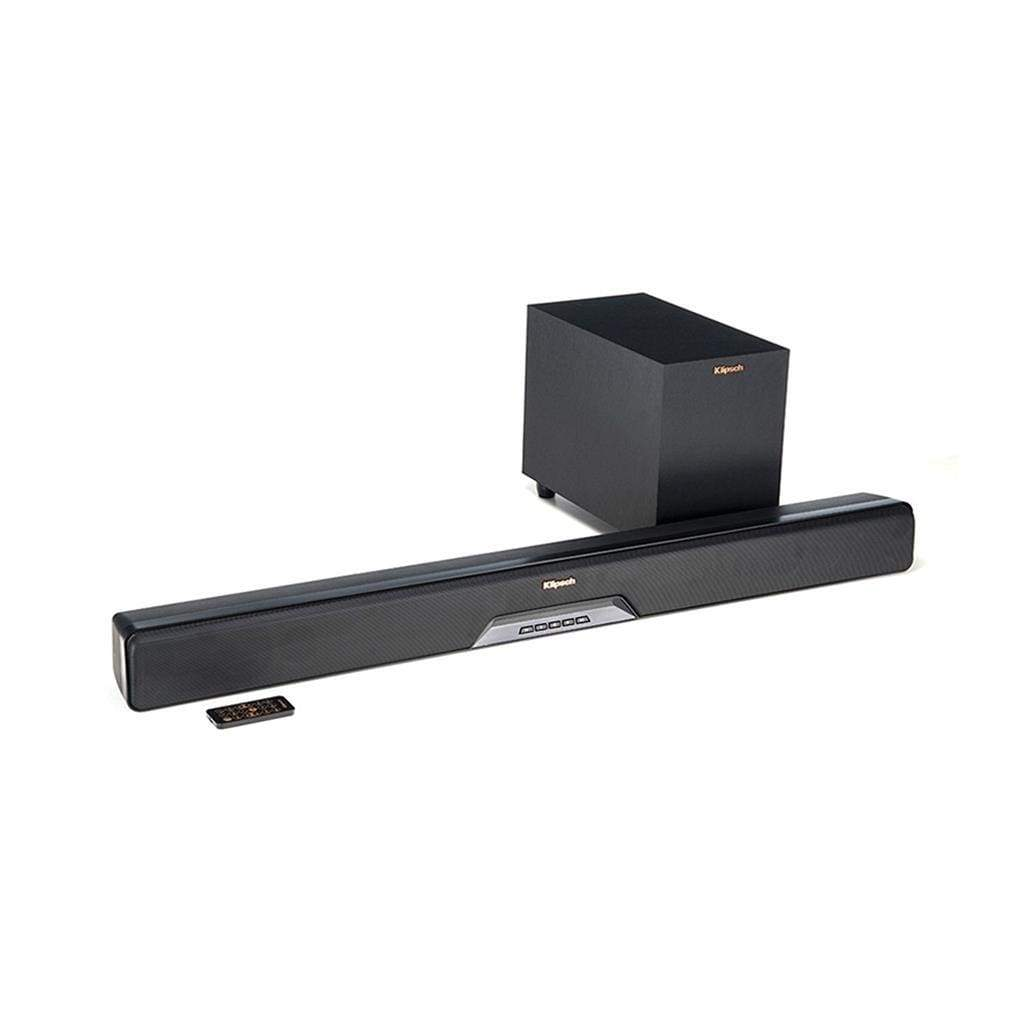 Klipsch RSB-8 Sound Bar and Wireless Subwoofer System - Stereo Advantage