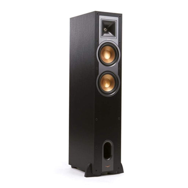 Klipsch R-26F Dual 6-Inch Floorstanding Speaker (Brushed Black)
