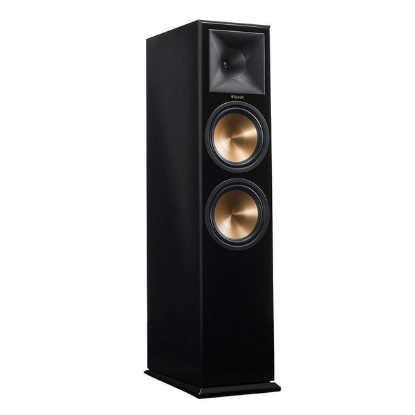 Klipsch RP-280F Reference Premiere Floorstanding Speaker with Dual 8 inch Cerametallic Cone Woofers PIANO BLACK Single