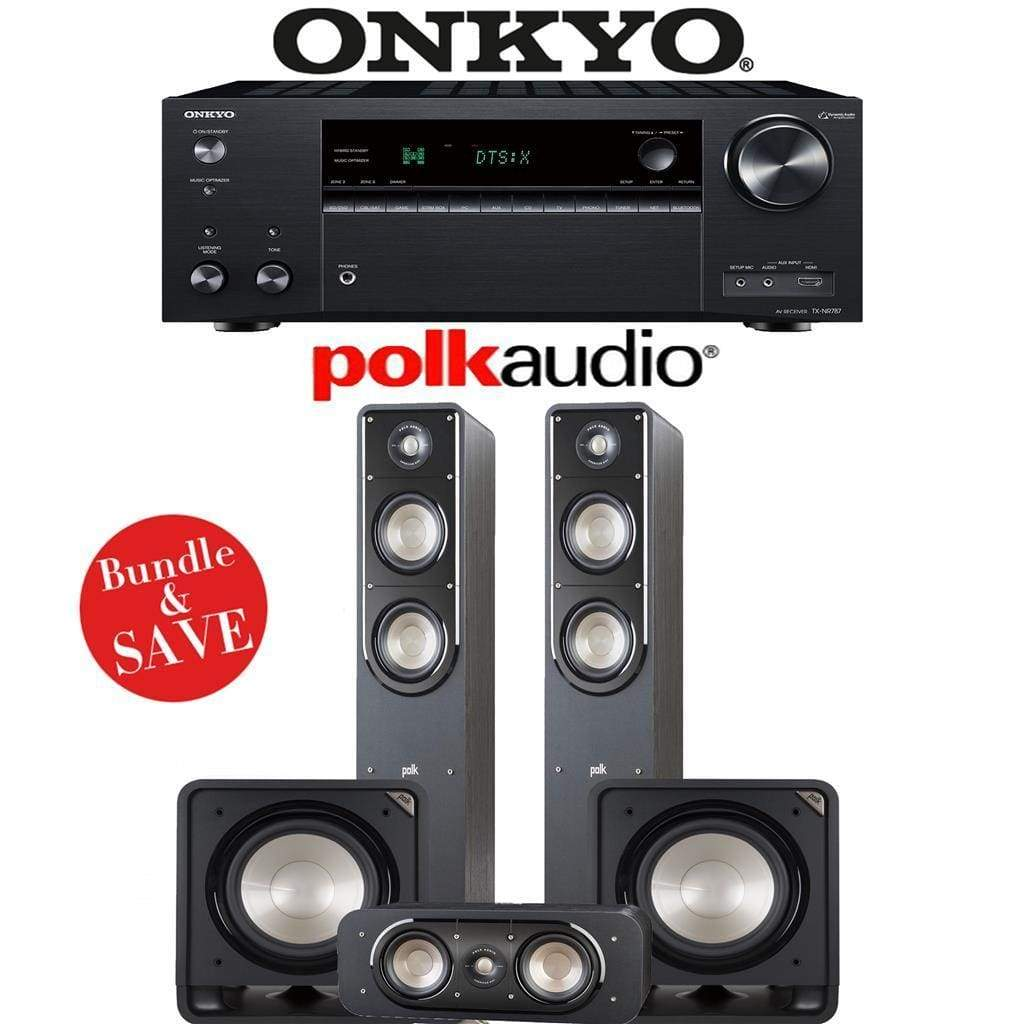 Polk Audio Signature S50 3.2-Ch Home Theater Speaker System - Stereo Advantage