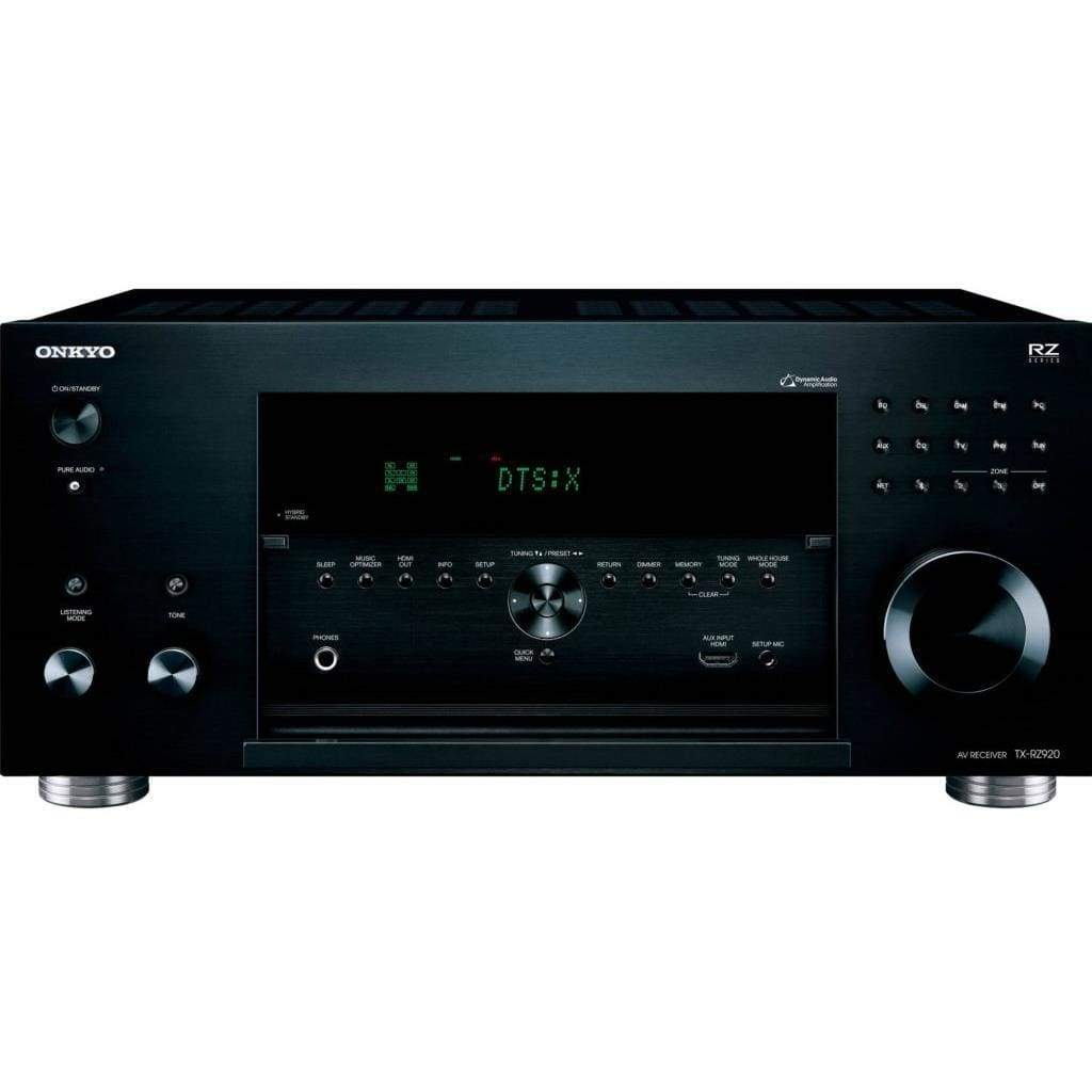 Onkyo TX-RZ920 THX-Certified 9.2 Channel Network A/V Component Receiver black - Stereo Advantage