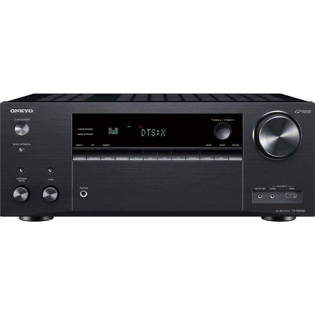 Onkyo TX-NR686 7.2 Channel THX Certified Network A/V Receiver Black - Stereo Advantage