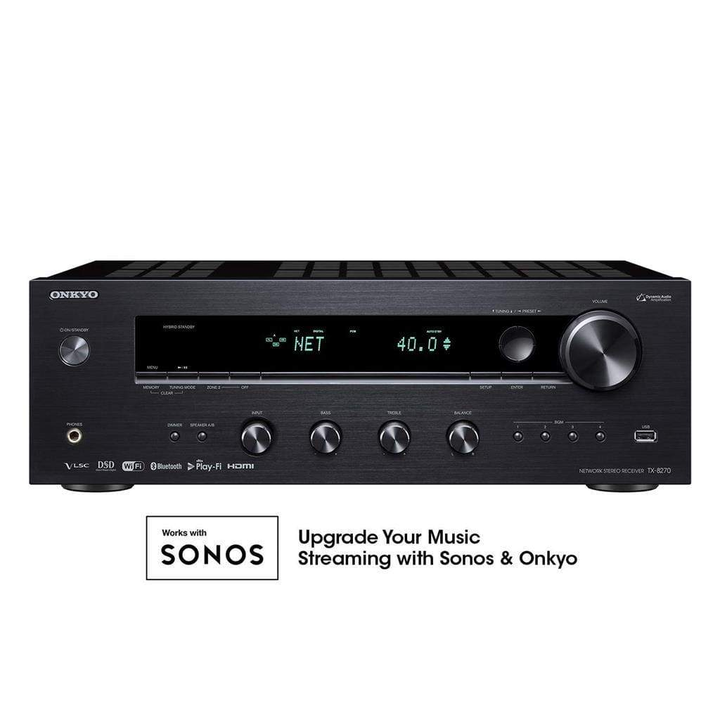 Onkyo TX-8160 Network Stereo Receiver WITH WIFI AND BLUETOOTH AND HDMI SWITCHING - Stereo Advantage