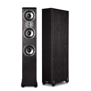 Polk Audio TSi400 4-Way Floorstanding Speaker (Black) - Stereo Advantage