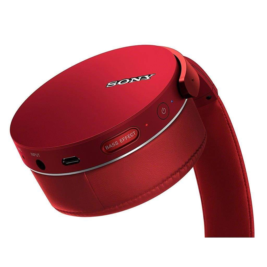 SONY MDR-XB950B1 - HEADPHONES RED - Stereo Advantage