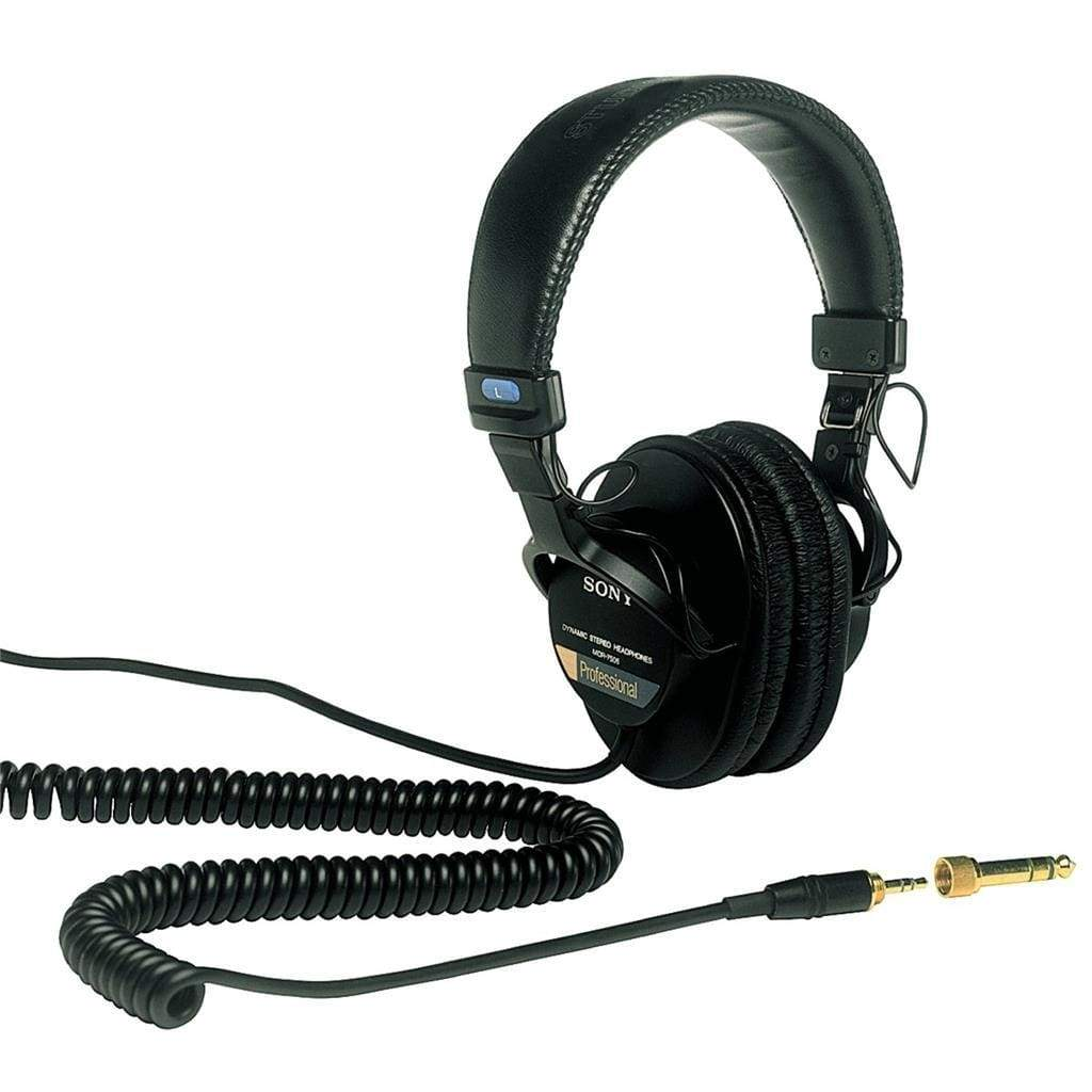 Sony MDR7506 Professional Large Diaphragm Headphone - Stereo Advantage