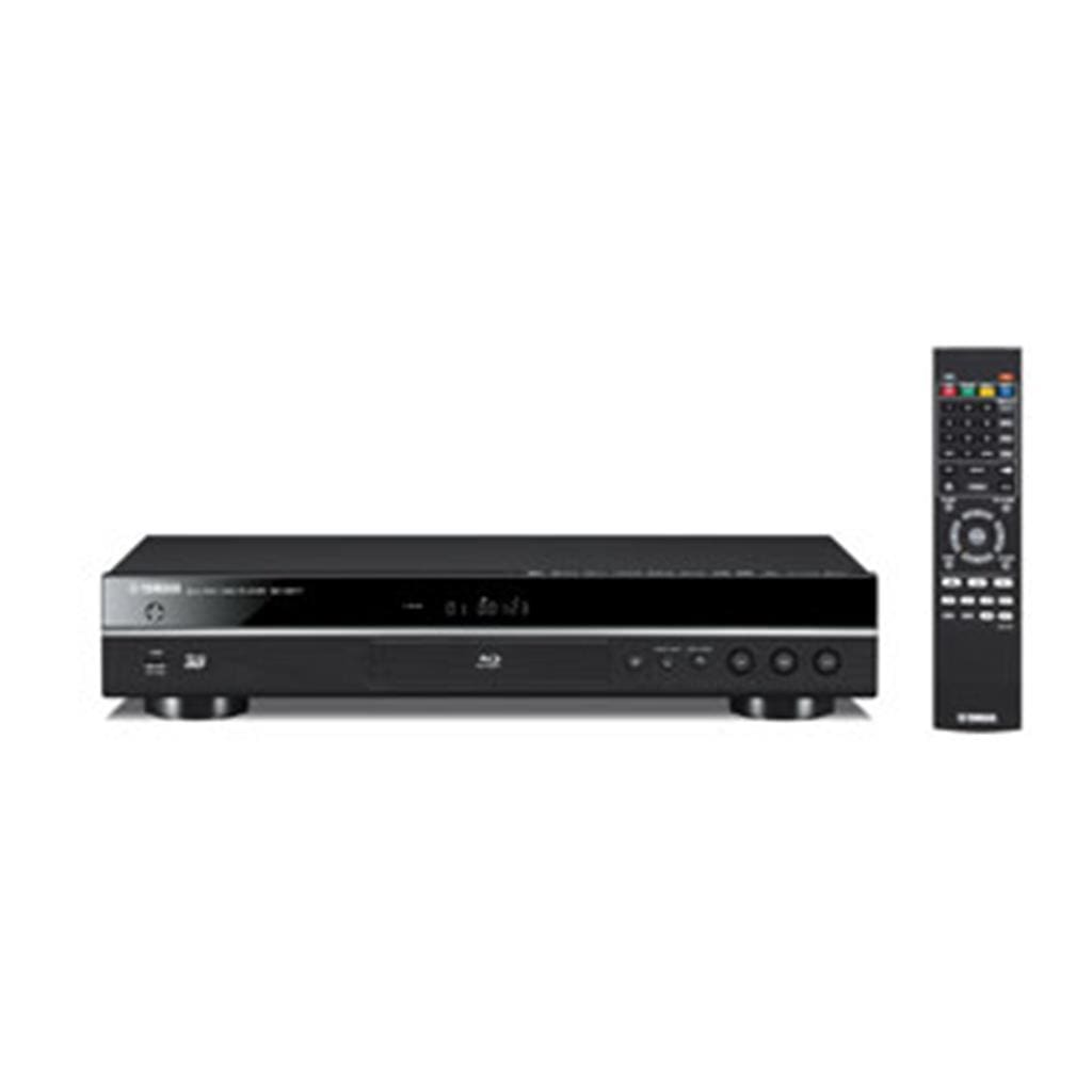 Yamaha BD-S677BL Blu-Ray Player Vudu Compatability Mircast Dropbox Sacd  Layback iPhone, iPad and Android Table Control