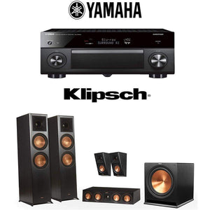 Klipsch Reference Premiere RP-8000F 5.1 Home Theater System with Yamaha AVENTAGE RX-A3080 9.2-Channel 4K Home Theater AV Receiver - Stereo Advantage
