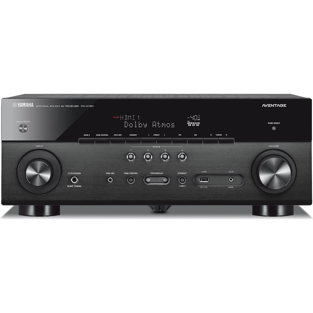 Yamaha RX-A780BL 7.2 Channel Network AV Receiver - Stereo Advantage