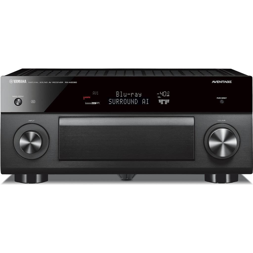 Yamaha AVENTAGE RX-A3080 9.2-channel home theater receiver with Wi-Fi®, Bluetooth®, and Amazon Alexa compatibility - Stereo Advantage