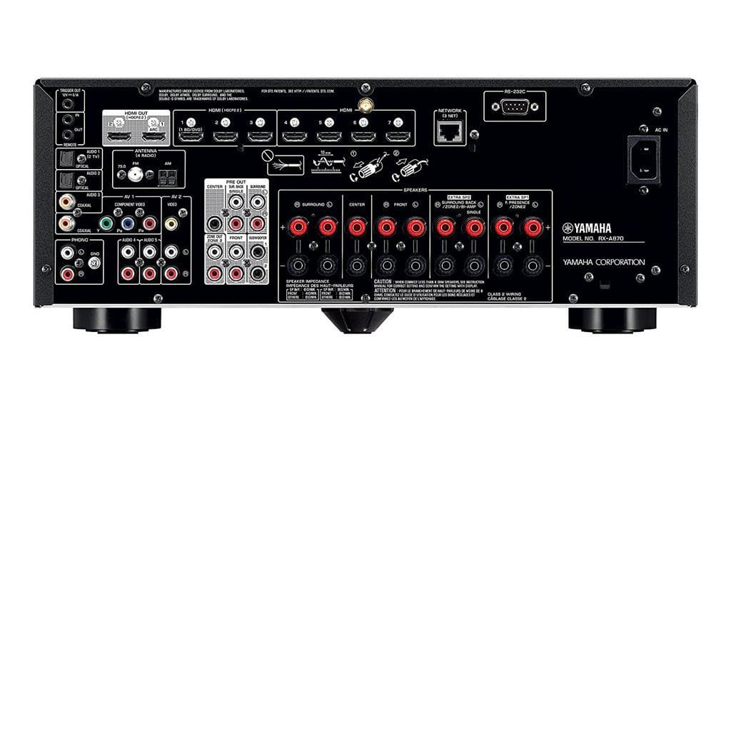 Yamaha RX-A870BL 7.2 Channel Network AV Receiver - Stereo Advantage