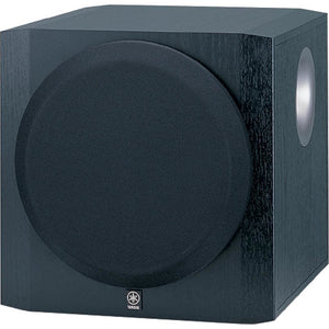 Yamaha 10 inch YSTSW216BL Black Powered Subwoofer - Stereo Advantage
