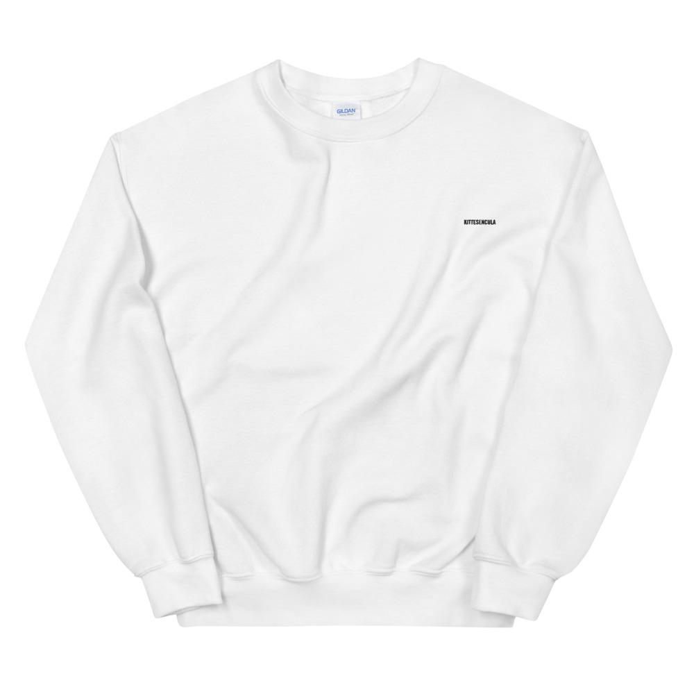"Kittesencula ""Embroidered""  Sweatshirt"