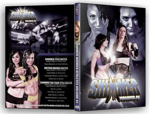 Shimmer - Woman Athletes - Volume 41 DVD
